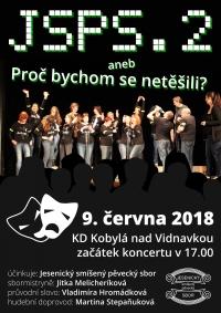 Pozvánka na koncert - Jesenický smíšený pěvecký sbor