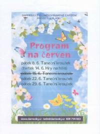 NZDM - Program na měsíc červen