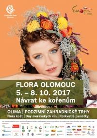 Pozvánka na podzimní Floru Olomouc
