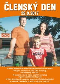 Členský den - COOP Jednota